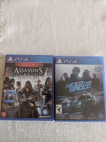 sony dcr vx2100e в Азербайджан: Assassin's Creed Syndicate / Need For Speed disk iksi bir yerde