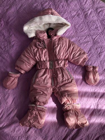 tovary dlja detej i roditelej в Кыргызстан: Комбинезон-детский,зимний. Возраст:1-3 месяца