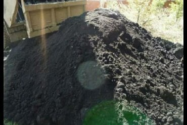 Чернозем горный плодородный, рыхлый, без мусора качество 100% доставка