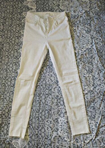 Модные,белые джинсы состояние отличное