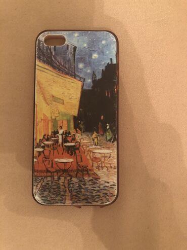 чехол в Азербайджан: Satılır !!Ayfon üçün çexol üstündə Van Gogh sənətinin