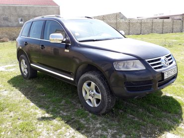 Nəqliyyat Sumqayıtda: Volkswagen Touareg 2 l. 2004 | 25000 km