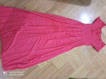 Prelepa crvena duga haljina