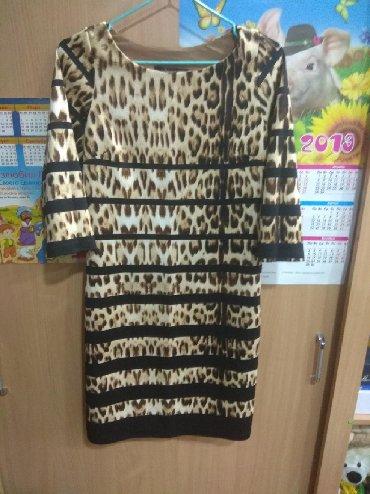 туника трикотажная с длинным рукавом в Кыргызстан: Платье новое,до колен,рукав три четверти,турция. Размер турецкий 38,на