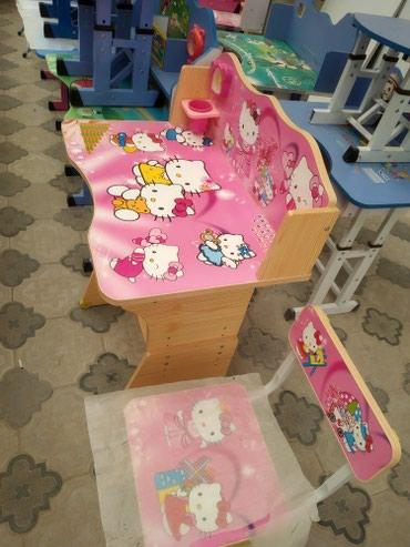 Xırdalan şəhərində Uşaq stol stul,tezedi,çatdırılma var.