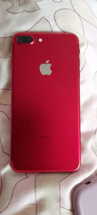 Электроника - Баетов: IPhone 7 Plus | 128 ГБ | Красный Б/У | Трещины, царапины
