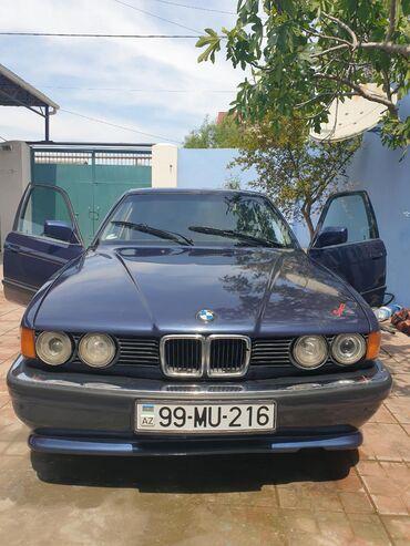 bmw z3 18 mt - Azərbaycan: BMW 735 3 l. 1990 | 25000 km