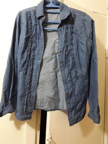 """Джинсовая рубашка """"Sela"""",размер 42-44"""