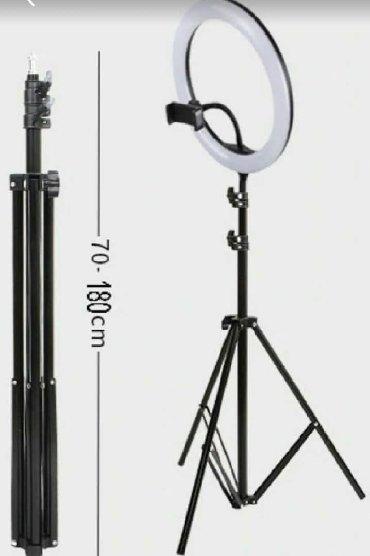 светильник настольный в Кыргызстан: Круглая лампа для макияжа, фотографа, съёмки видео. +БЕСПЛАТНАЯ