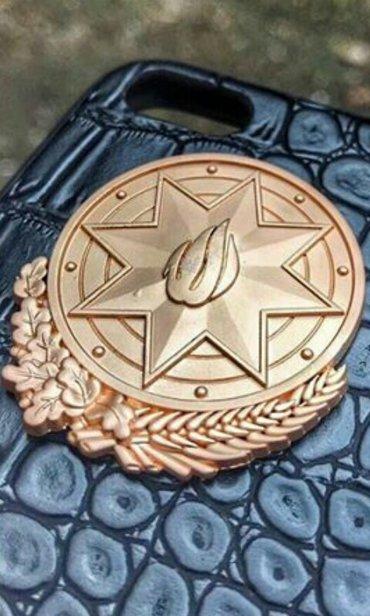 Bakı şəhərində Gerb emblem