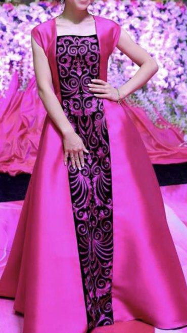 opti women в Кыргызстан: Дизайнерское платье от Айпери Обозовой в национальном стиле