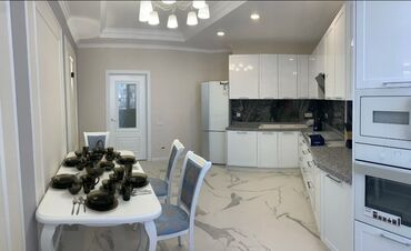авангард стиль цены на квартиры in Кыргызстан | ПРОДАЖА КВАРТИР: 3 комнаты, 127 кв. м, С мебелью