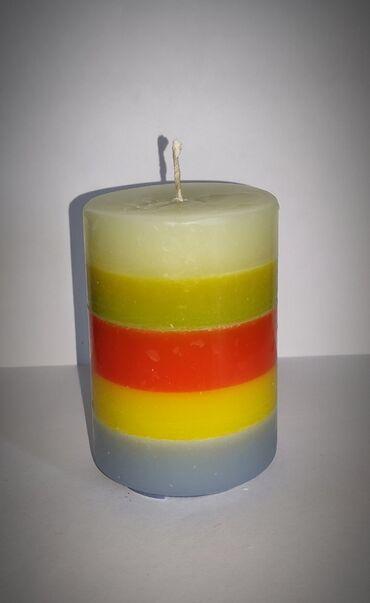 Svece rucno radjene sa i bez mirisa, raznih oblika i velicina, raznih
