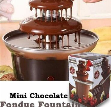 Čokoladna fontana sa 3 nivoa2800Nije lako nabrojati sva čudesna