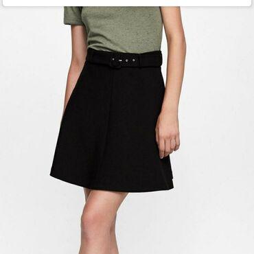 трапы нержавейка в Кыргызстан: Юбка-трапеция Zara размера L в отличном состоянии (носила пару раз)