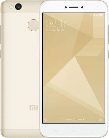Xiaomi redmi 4x gold 32GB και δύο θήκες σε Kalambaka