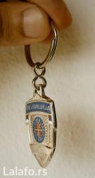 Privezak za ključeve sa motivom MUP,policija - Belgrade