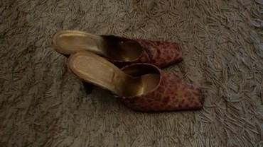 Ekegantne papuce, tigraste br.38, ocuvane - Leskovac