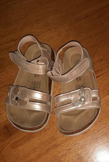 Decije sandale, kratko nosene, ocuvane. Broj 26, ug 15.5cm