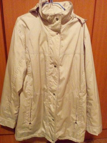 Kišni kaputi - Srbija: Ženska jakna veličina 42, šuškava sa postavom. Rajsferšlus i sve nitne