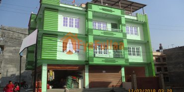 a new 3.5 stories commercial house having land are 0-5-2-0 of 20 feet in Kathmandu