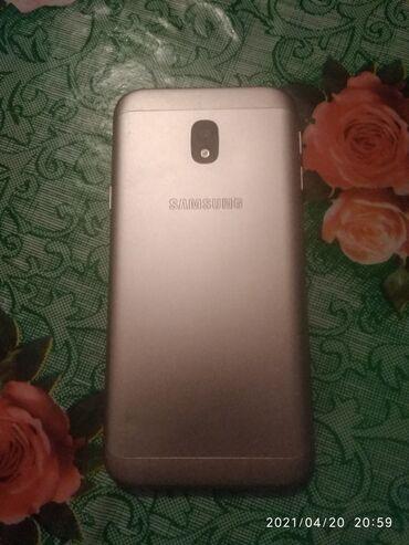 Samsung Galaxy J3 2018 | 16 ГБ | Серебристый | Б/у | Сенсорный