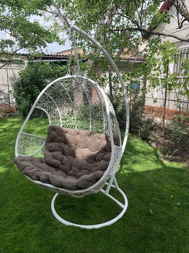 Подвесное кресло. Гамак. Плетеная мебель. Кокон. Разные цвета и форма