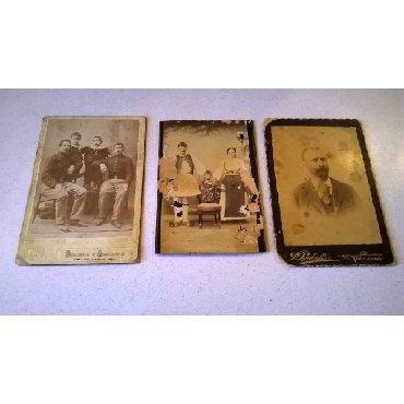 3 Χοντροχάρτονες Φωτογραφίες.Διαστάσεις από αριστερά: 17 x 11,5
