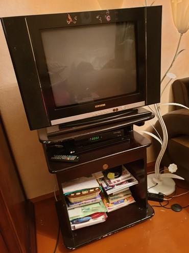 Samsung б у - Азербайджан: Продам телевизор от фирмы Samsung и шкафчик под него.Дешево!Звоните