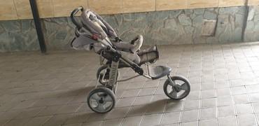 детский трехколесный в Кыргызстан: Продается коляска фирмы ETONICO серого цвета, трехколесная, в хорошем