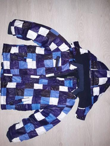 Zimska jakna za decaka kao nova bez ostecenja pise velicina 5.Duzina - Ruma