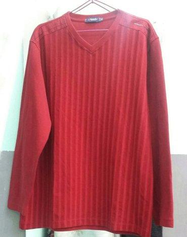 Мужской пуловер  б/у в отличном состояния размер 50-52 цвет бордо в Бишкек