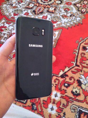 Samsung s 7 - Кыргызстан: Б/у Samsung Galaxy S7 Edge 32 ГБ Черный