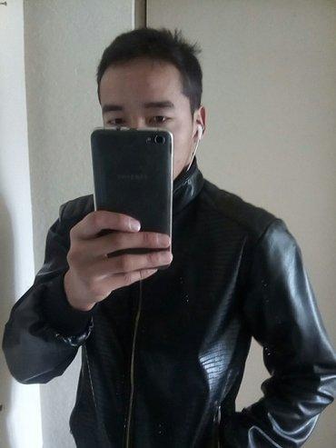 продаю кожаную куртку весна-осень. Размер xl,практически новая. в Бишкек