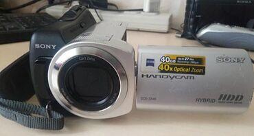 Видеокамера японская - Кыргызстан: Японское SONI видео камера HDDПамят 40GB. 5000сом. Или Обмен на