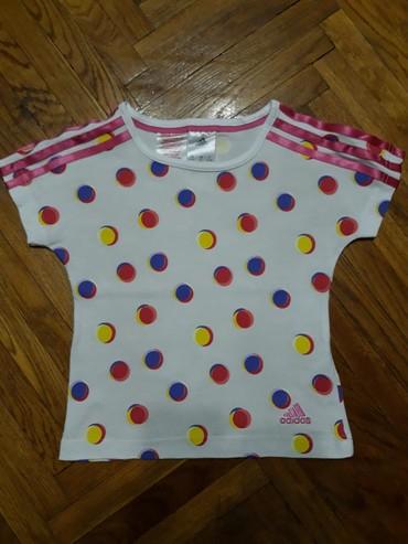 Majica adidas sweatshirt - Srbija: Adidas majica, velicina 5-6. Nosena, ali ocuvana