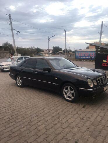 черный mercedes benz в Кыргызстан: Mercedes-Benz E 230 2.3 л. 1999 | 2350966 км