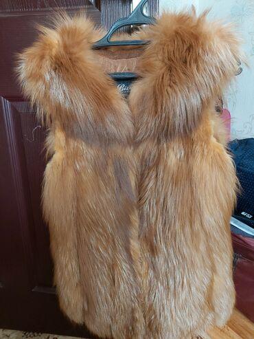 продам дачу беш кунгей в Кыргызстан: Жилетка лиса,мех натуральный. Размер 42-44 .В отличном состоянии
