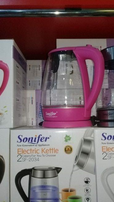 """Xırdalan şəhərində Elektrik çaydan """"Sonifer""""orginal məhsul,say çoxdu,çatdırılma"""