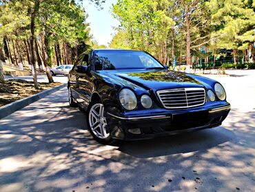 Mercedes-Benz Azərbaycanda: Mercedes-Benz E 220 2.2 l. 2001 | 287000 km