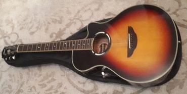 Xaçmaz şəhərində Yamaha apx 500 elektro akustik peşekar gitara 470azn