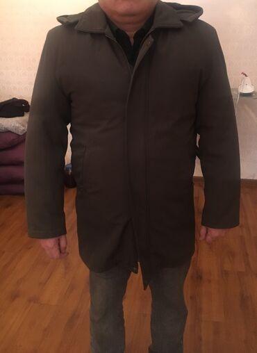меховые пинетки в Кыргызстан: Продаю американскую,зимнюю мужскую куртку-трансформер,идет с меховым п