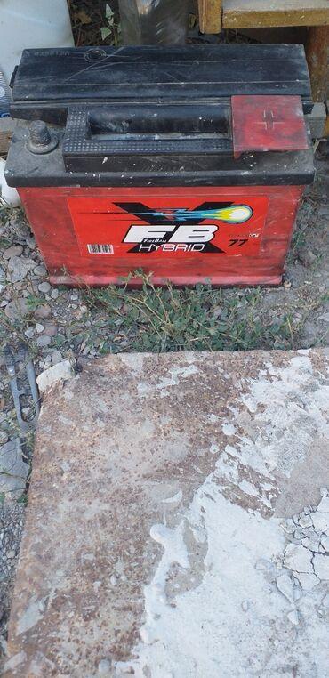 Транспорт - Манас: Акумулятор в отличном состоянии стоял на мерседесе, работал без