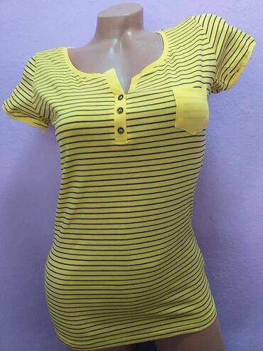 Majice - Srbija: Ženske majice IdealUni velicinaCena 800 dinMaterijal 95% pamuk 5