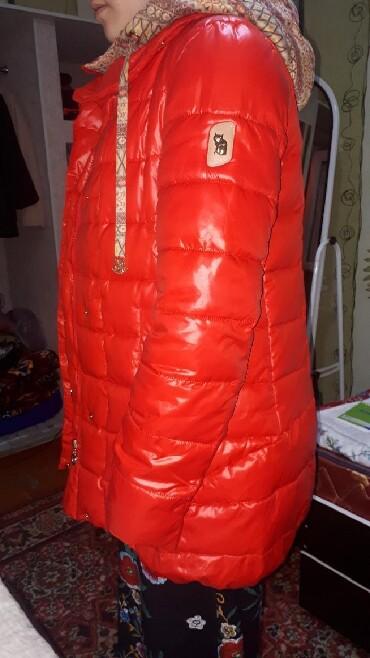Очень тёплая куртка на зиму от фирмы Evcanbady.Покупала в Москве,за