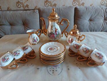 cay daslari satilir in Azərbaycan | QAB-QACAQ DƏSTLƏRI: Qədimi kofe,çay dəsti!🤩💥təcili satılır (heç istifadə olunmayıb) son