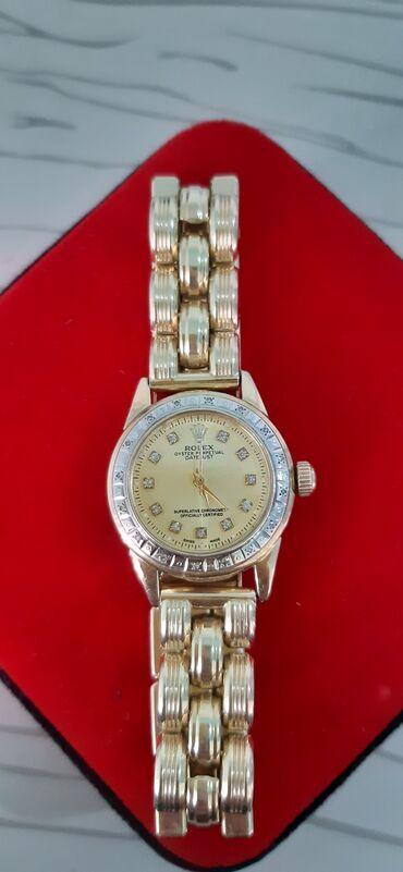Личные вещи - Майлуу-Суу: Золотые часы от Rolex 585 пробы,31 гр с бриллиантами,отдам 2100$ не