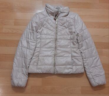 Pantalone hm duboke - Srbija: H&m jakna je u odlicnom stanju, boja krem, velicina M. Duzina