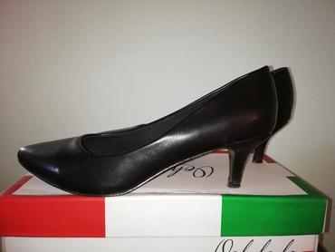 Ostalo | Senta: Cipele crne br. 39. (Jednom korišćene)