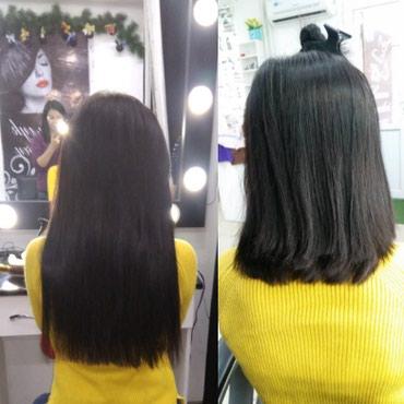 Наращивание волос 1500 сом. Снятие в Кант